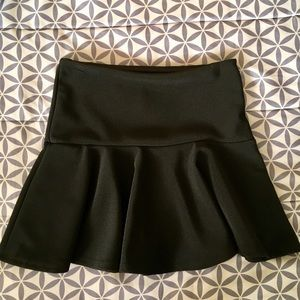 Black Skater Girl Skirt Size S